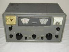 Hammarlund HQ-100A Vintage Ham Radio Receiver for Parts / Restoration - READ