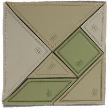 Maxpedition Tangram 7-Delige 3D Pvc Rubber Badge Airsoft Raadsel Patch Ar