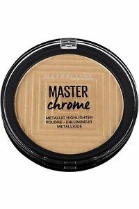 Maybelline Master Chrome Metallic Highlighter 9g Molten Gold #100