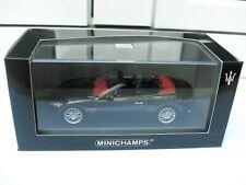 Maserati Grancabrio 2010 black Minichamps 400123930 MIB quattroporte 1:43 GREAT