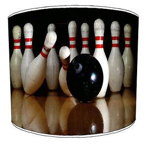 Ten-pin Bowling Balls Lampshades, Ideal To Match ten pin bowling Wall Decals