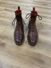 Meermin Whiskey Shell Cordovan Norvegese Balmoral Boots 7.5UK