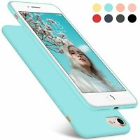 Ultra Slim Hülle iPhone 7 8 6 6s Dünn Handy Schutz Case Back Cover