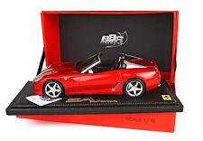 1:18 BBR Ferrari 599 Super America Aperta 2010 Red Rosso Fuoco UNIQUE ON EBAY