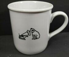 Vintage RCA Coffee Mug Dog Nipper Hears His Master's Voice Victor Gramophone