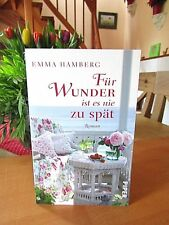 """Emma Hamberg    """"Für Wunder ist es nie zu spät""""    TB"""