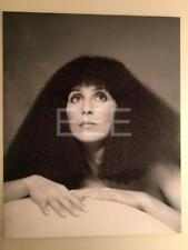 CHER by Photographer Harry Langdon with Embossed Stamp Photo 2L