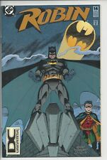 Robin 14 - NM- (9.4)  - High Grade - DC Universe Logo - Rare