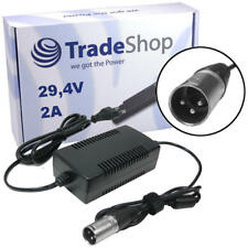 Netzteil Ladegerät Ladekabel 29,4V 2A 3pin XLR ersetzt HP1202L2 für 24V Akku