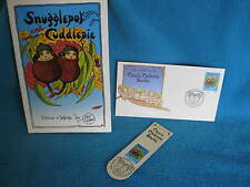 Snugglepot  & Cuddlepie - MAY GIBBS Aust Post Stamps 3 tales in 1 book! GoRgEoUs