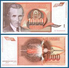 JUGOSLAWIEN / YUGOSLAVIA 1000 Dinara 1990  UNC  P.107