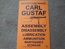 Swedish K Carl Gustaf 9mm Sub Machine Gun Manual 20 pages