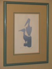 Kevin Dyer Limited Edition Pelican Waiting Signed Print