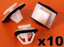 10x HONDA lato stampaggio Gonne Trim Clip-CRV Civic