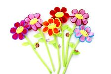 26 Inch Soft Toy Colourful Flower On Flexible Stick Assorted Colours (K36)