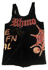 WWE TNA ECW RHINO RING WORN SINGLET SIGNED W/ PIC PROOF 4