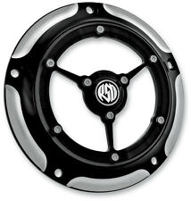 ROLAND SANDS CLARITY CONTRAST CUT 5 HOLE DERBY COVER 99-12 HARLEY DAVIDSON T/C