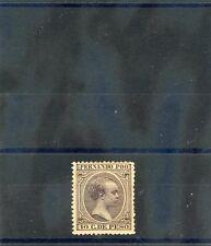 FERNANDO PO Sc 17(SG 17)*F-VF LH 1894 10c VIOLET BROWN, SCARCE!   $750
