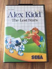 """Master System:       ALEX KIDD """"The Lost Stars""""        PAL EUR"""