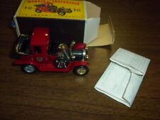 PACKARD LANDAULET 1912 Y-11 - MATCHBOX CAR with BOX - 1984 LESNEY ENGLAND