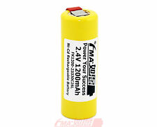 Ni-Cd 2.4V 1200mAh Battery for Shaver Barber Scalding knife 2SL US/RU