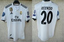 Maillot REAL MADRID shirt camiseta porté ASENSIO match worn Champions League M