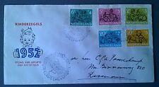 FDC E11 Kinderzegels 1952 geschreven adres