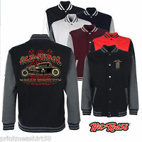 Hotrod 58 American Varsity Jacket Gear Monkey Garage Retro 50's Rockabilly  201