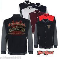 Hotrod 58 American Varsity Jacket Gear Monkey Garage Retro 50's Rockabilly  201