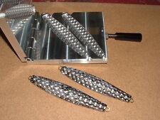 Saltwater D Jig-3 Bumpy mold 14, 16oz CNC Aluminum Diamond