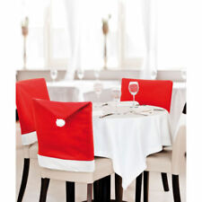 Santa Claus Polyester Christmas Table Chair Covers