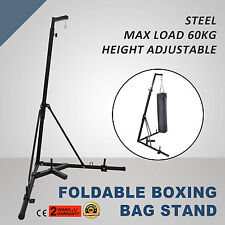 Foldable Boxing Bag Stand Dummy Target Free Standing Punch Bracket BEST PRICE