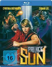 Blu Ray PRINCE OF THE SUN. Cynthia Rothrock. Region free (1990). New sealed.