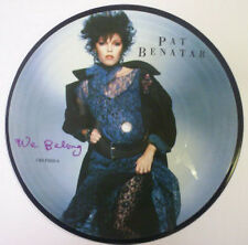 Pat Benatar, We belong, NEW/MINT PICTURE DISC 7 inch vinyl single