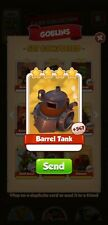 10 x barrel tank  Coin Master Cards (Fastest Delivery)