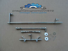 VOLVO AMAZON 123 GT  SU HS6 CARB LINKAGE KIT STAINLESS STEEL MIRROR FINISH!!