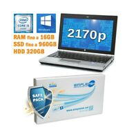 "COMPUTER NOTEBOOK HP ELITEBOOK 2170P I5 3317U 11,6"" WINDOWS 10 PRO GRADO B-"