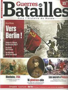 GUERRES ET BATAILLES DANS L'HISTOIRE DU MONDE N° 1 / VERS BERLIN - ALESIA