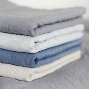 Leinen Bettlaken in verschiedenen Farben 240x260cm