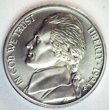 1994 P Jefferson Matte Finish BU Nickel Toned Five Cent Coin Philadelphia Mint