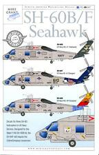 Mike Grant Decals 1/48 SIKORSKY SH-60 SEAHAWK U.S. Navy Helicopter