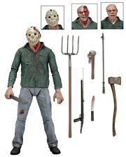 Friday 13th Part 3 Jason Voorhees Ultimate Deluxe 3D Cover action figur neca Neu