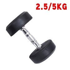 Dumbbell Set Gym Fitness Equipment Dumbbells Rubber Encased Solid Weights Sets