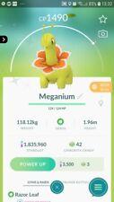 Shiny Meganium ( Chikorita Evolution ) Trade Pokemon GO