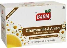 Badia Chamomile & Anise Tea - 25 Tea Bags