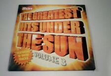 THE GREATEST HITS UNDER THE SUN  VOLUME 3 PROMOTIONAL CD THE SUN NEWSPAPER.
