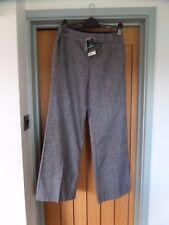 BNWT Women's DOROTHY PERKINS Wool mix Trousers UK 10 Long Smart Wide Leg