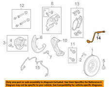 FORD OEM Front Brake-Flex Hose DG1Z2078F