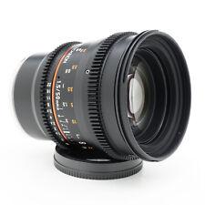 Rokinon 50mm T1.5 AS UMC Cine Lens for Sony E-Mount