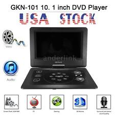 GKNUO GKN-101 Portable DVD Player 10.1-Inch Swivel Screen with USB SD FM TV